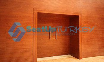 acoustic wooden door- acoustima