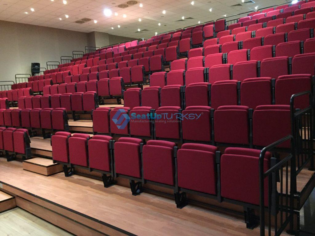 Stadium VIP Seatup2 Application on Telescopic system