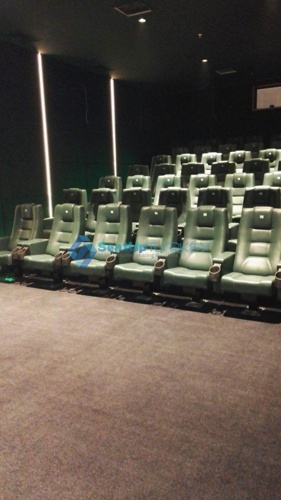 Application of Cinema seat model produced by Seatupturkey