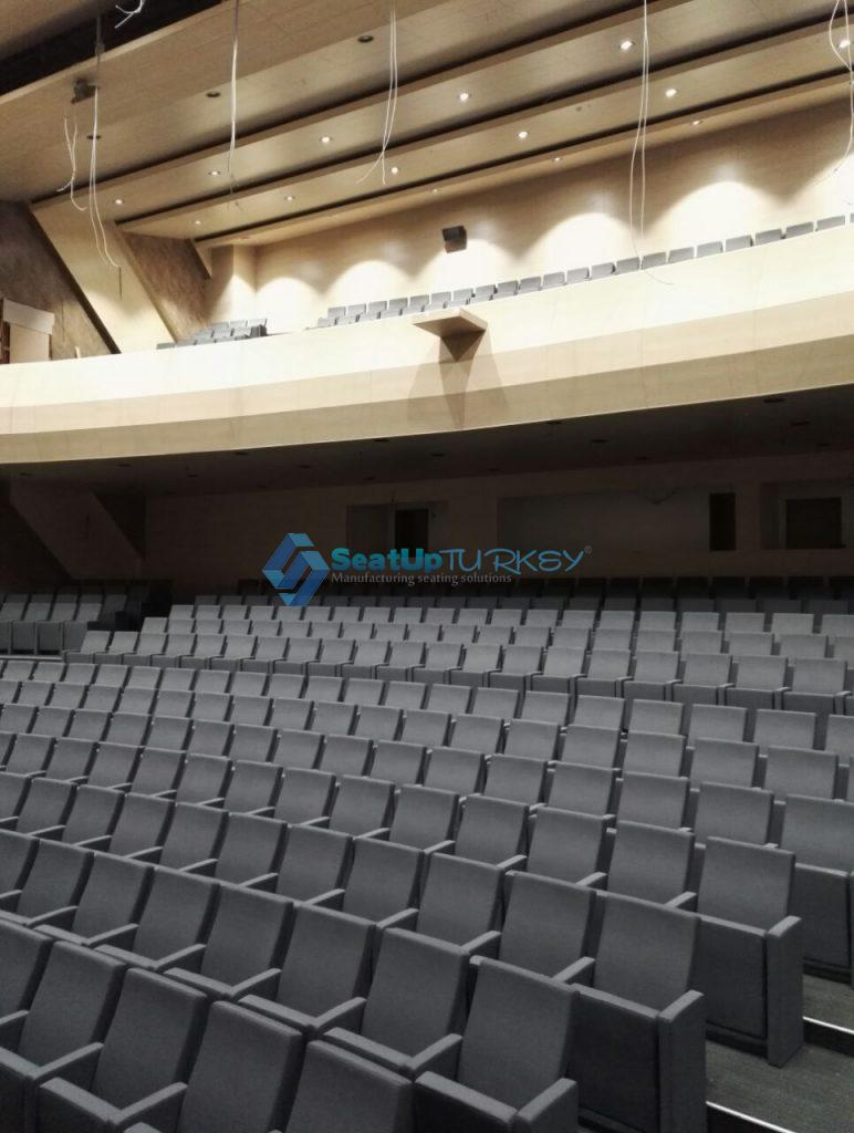 Application of the model EG900 a classic and successful auditorium seat by Seatup Turkey +905427196712
