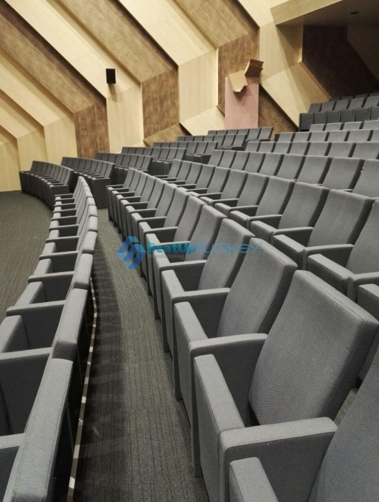 A classic and successful auditorium seat by Seatup Turkey +905427196712