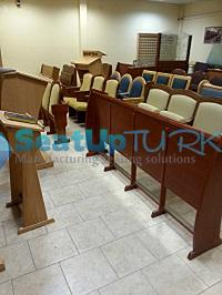 Church seating and worship seating for Synagogues3 seatupturkey