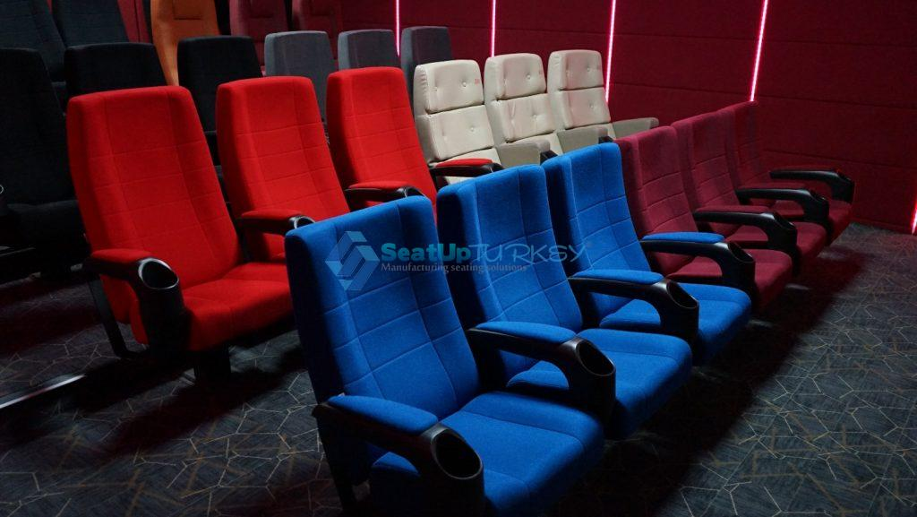 CN 400- Cinema seat with decorative backrest- Cinema Series - produced by SeatUp Turkey